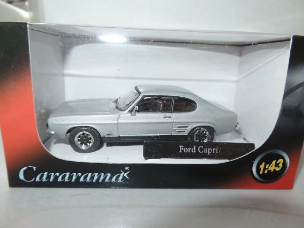 Cararama CR041 1/43 O Scale Ford Capri MkI Silver Fox